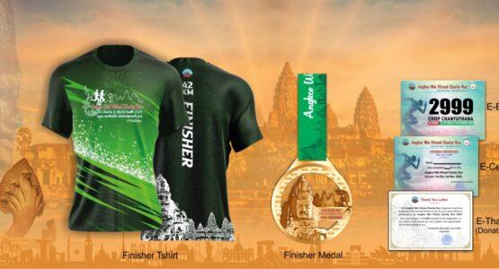 Angkor Wat Virtual Charity Run